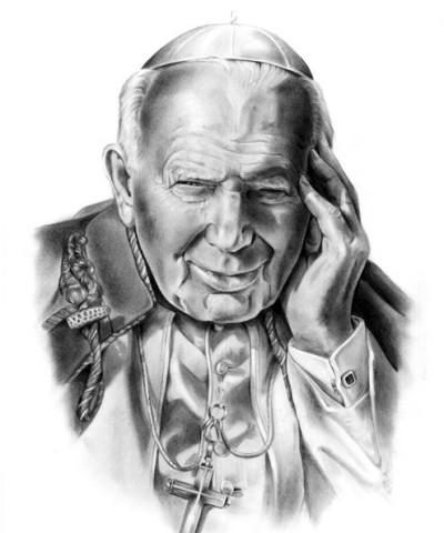 gezeichnete Bischof