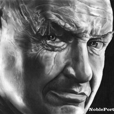 Handmade Charcoal Portraits