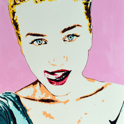 Gift Pop Art Portrait from Photo