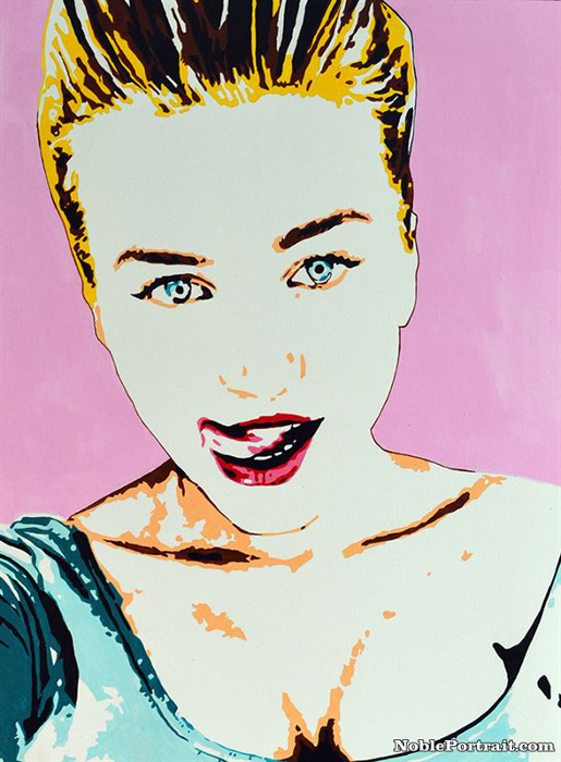 Pop Art Portraits From Photo