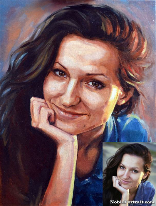acrylic portraits from photo