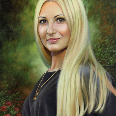 Oil Paintings Woman
