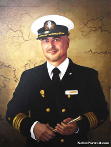 Sailor painting as an example of Gift for Dad's 60th Birthday