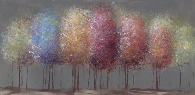 Impressionist acrylic painting