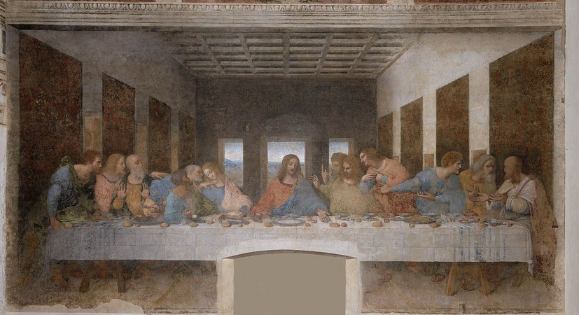 Masterpiece Last Supper by da Vinci