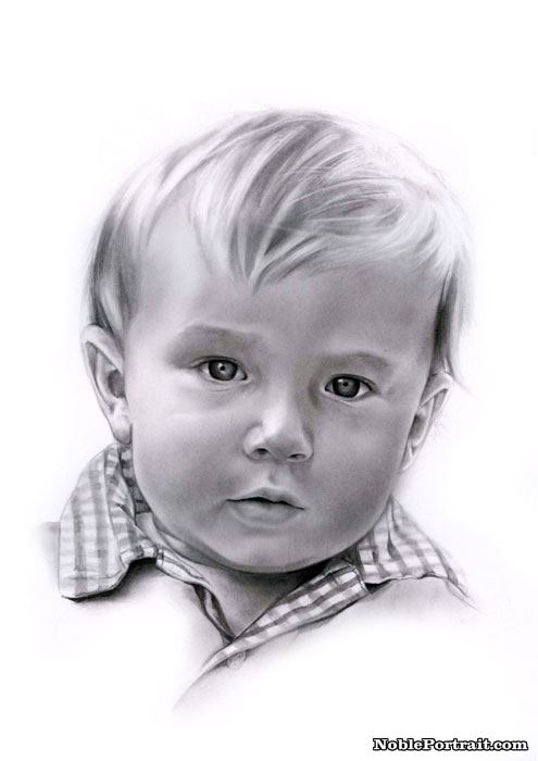 Wonderful Pencil Portraits from Photo